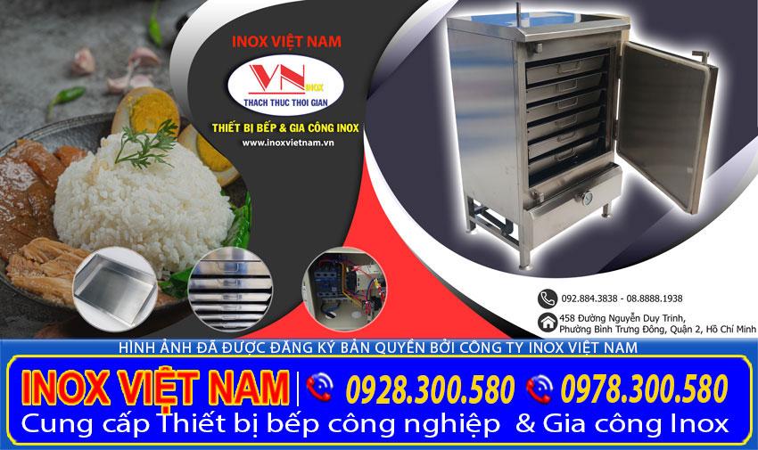 Địa chỉ mua tủ hấp cơm công nghiệp tại TP HCM giá tốt, Liên hệ chúng tôi Inox Việt Nam ngay.