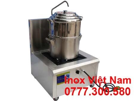 Nồi inox hấp cơm tấm bằng gas giá tốt.