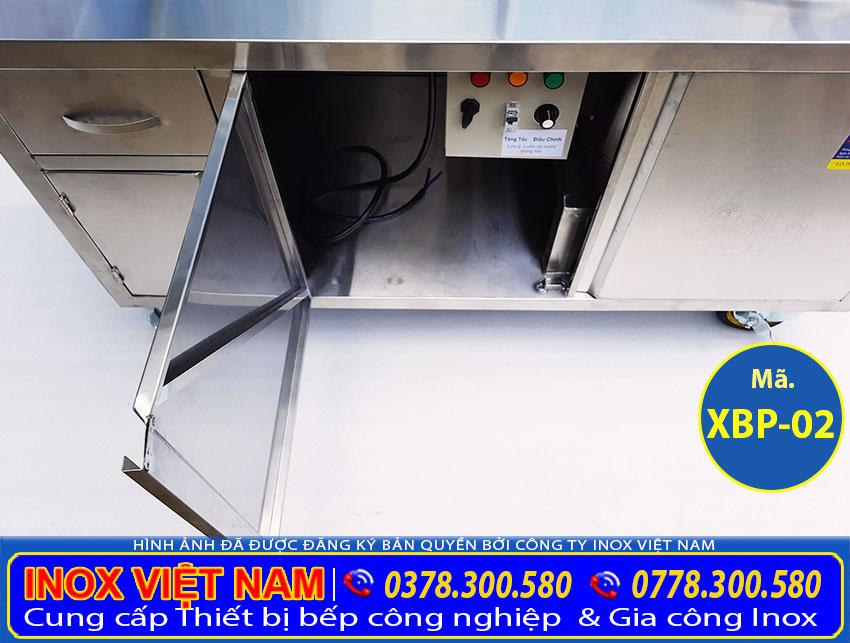 Tủ bán phở inox bằng điện, tủ bán hủ tiếu bằng điện giá tốt, tiết kiệm điện năng.