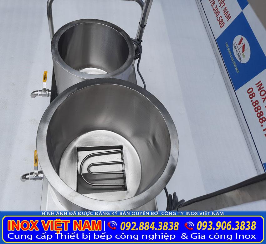 Bộ nồi nấu phở bằng điện 20 lít và 60 lít tại TP HCM giá tốt.