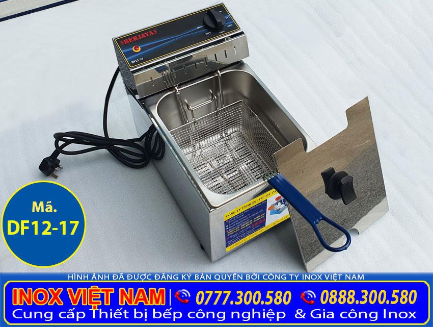 Bếp chiên nhúng bằng điện, bếp chiên nhúng đơn bằng điện hiệu Berjaya nhập khẩu từ Malaysia do Inox Việt Nam phân phối.