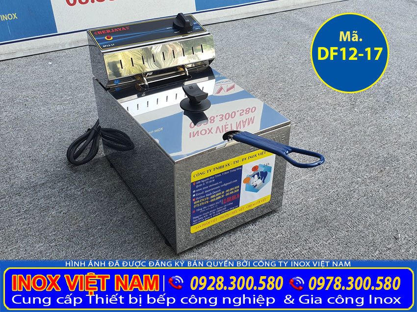 Báo giá bếp chiên nhúng bằng điện đơn giá tốt tại TP HCM.