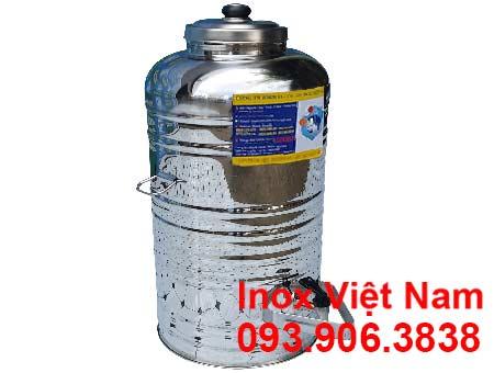 Bình chứa nước inox 50 lít giá tốt tại Inox Việt Nam tp hcm.