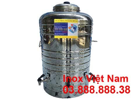 Bình đựng nước inox 100 lít giá tốt tại TP HCM đơn vị Inox Việt Nam liên hệ mua ngay